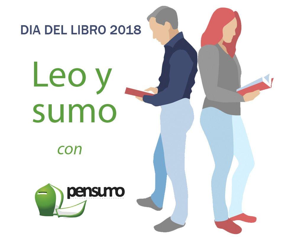 Leo y Sumo con Pensumo en el Día del Libro: 0,50 € por cada libro que compres con tu app