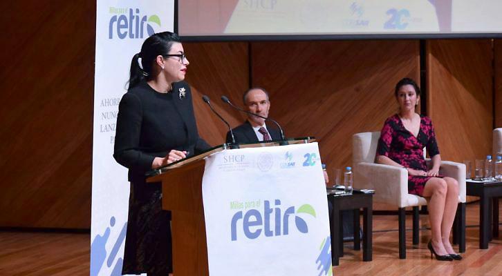 Vanessa Rubio Márquez, subsecretaria de Hacienda y Crédito Público de México. Foto El Universal.
