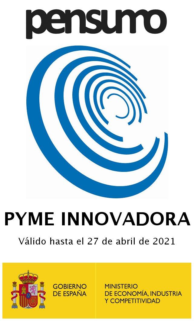 Pensumo consigue el sello de 'Pyme Innovadora' del Ministerio de Economía, Industria y Competitividad