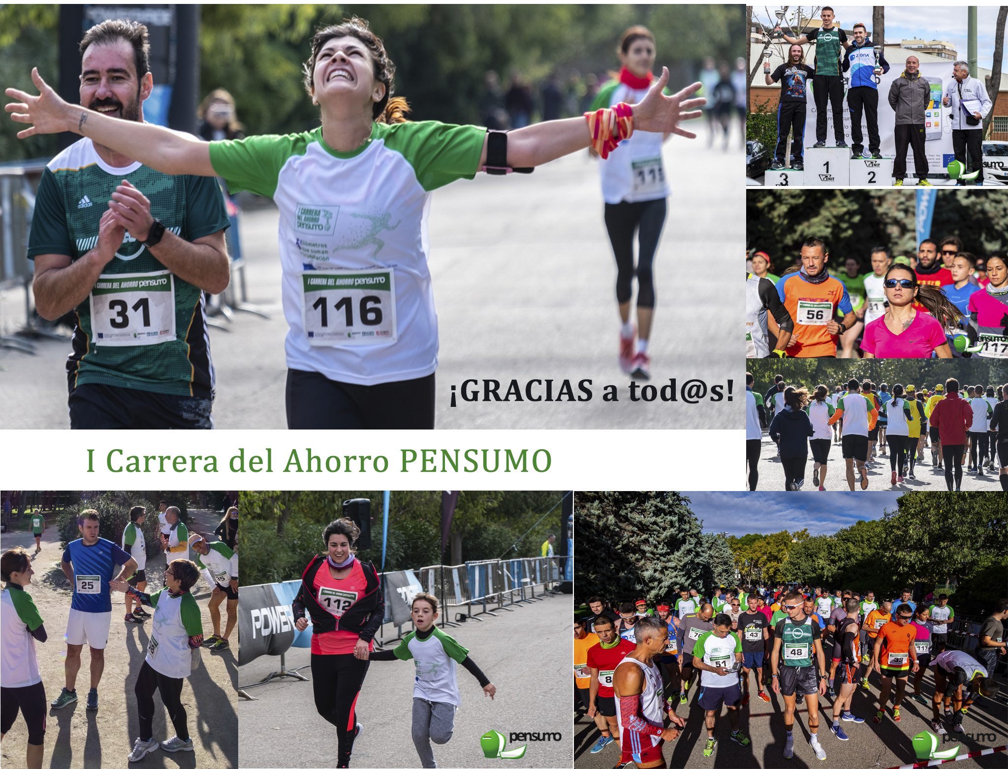 Éxito de la Primera Carrera del Ahorro Pensumo con 356 participantes