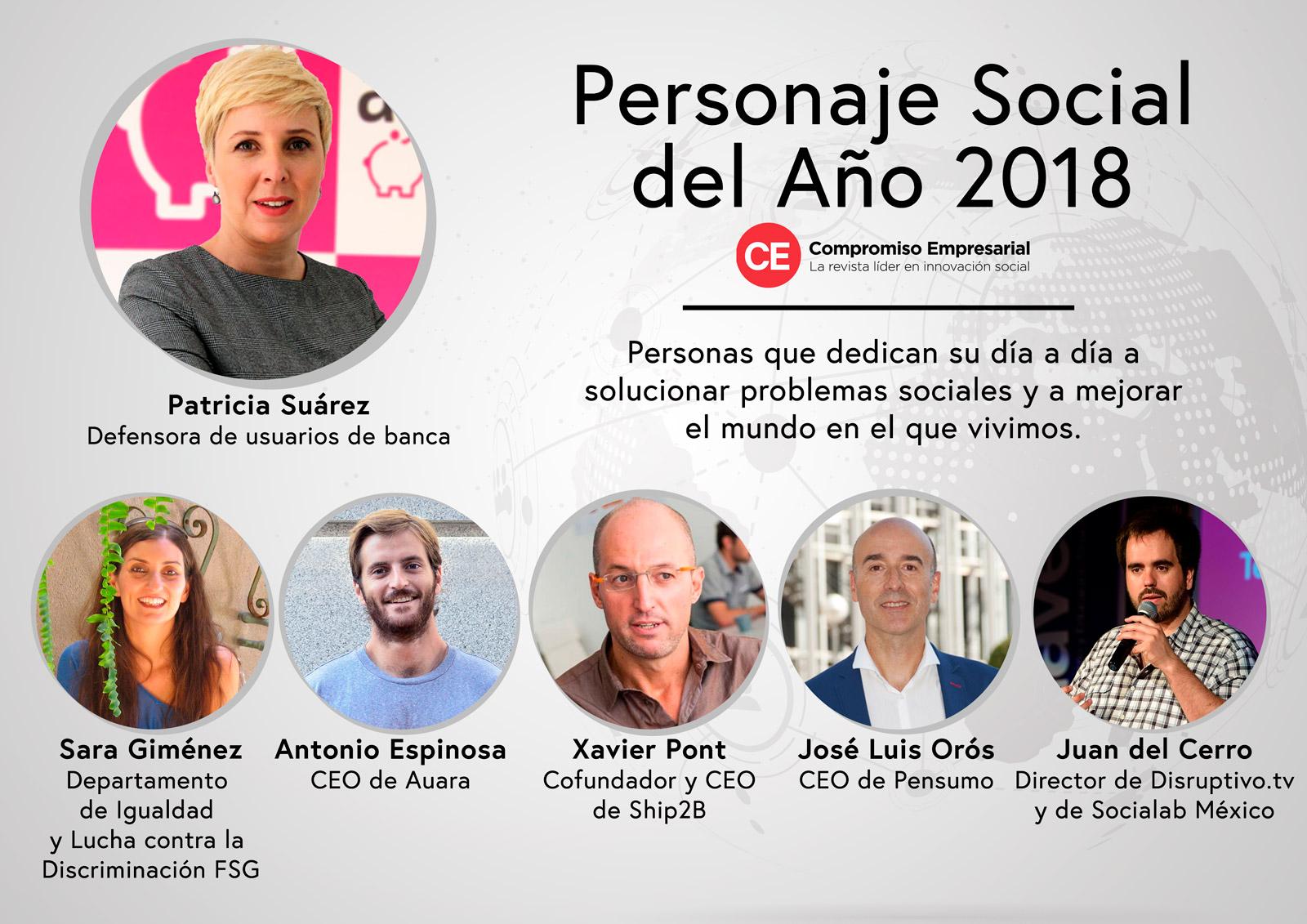 José Luis Orós, CEO de Pensumo, finalista de los Premios 'Personaje Social del Año 2018' de 'Compromiso Empresarial'